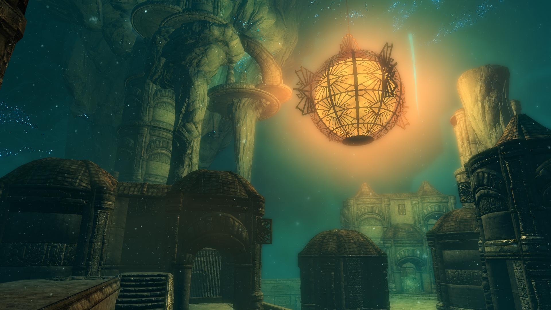 What is the glowing orb in blackreach? : teslore