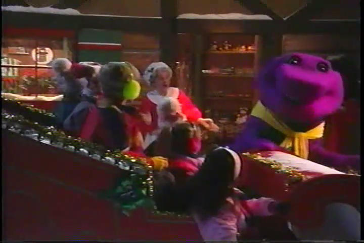 We Wish You a Merry Christmas - Barney Wiki
