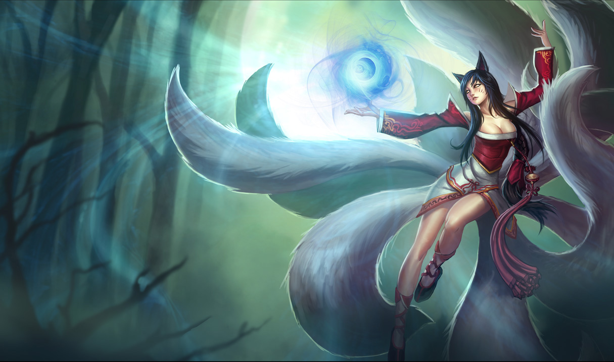 Ahri  the Nine-Tailed ...
