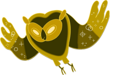 Solar owl inspired by the Cosmic owl from adventure time? 220px-Owl_trans