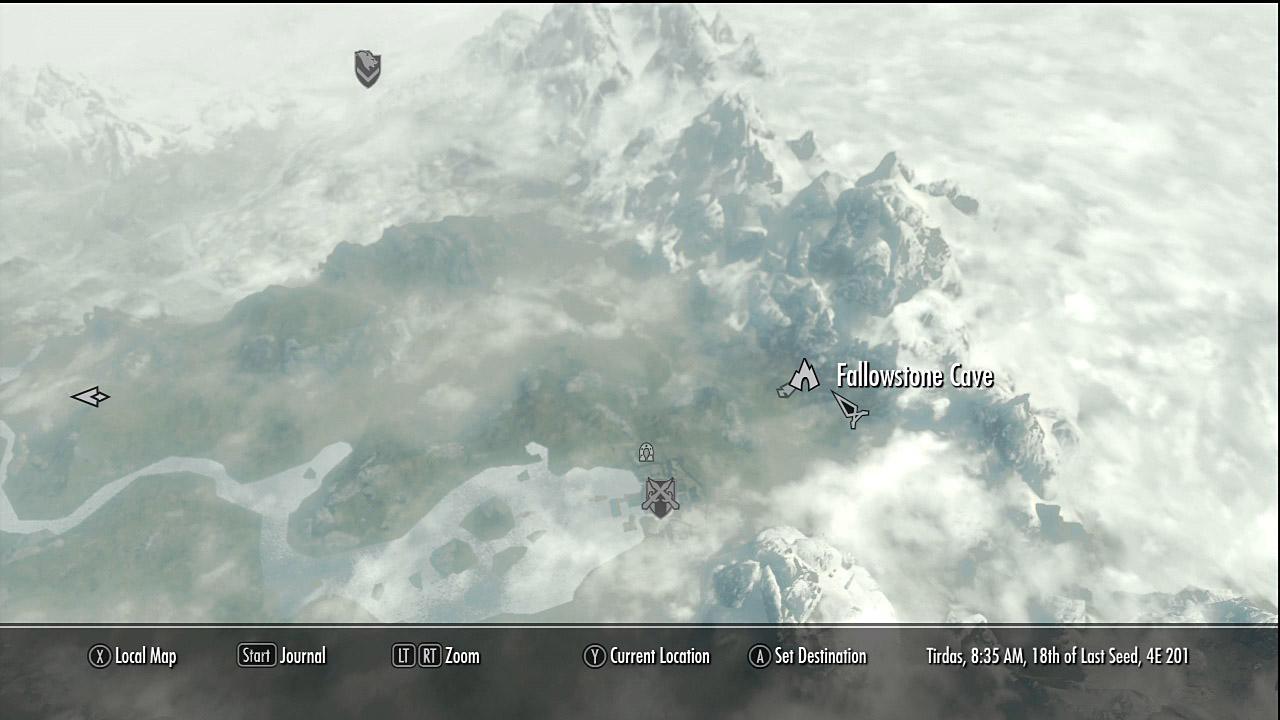 Largashbur Skyrim Location Map Creativehobbystore