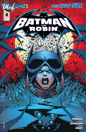 Cover for Batman and Robin #4 (2012)
