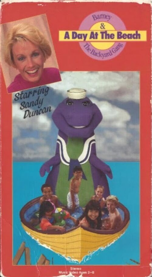 A Day at the Beach - Barney Wiki