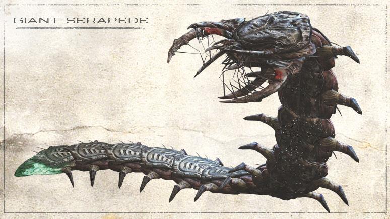 gears of war serapede - photo #1