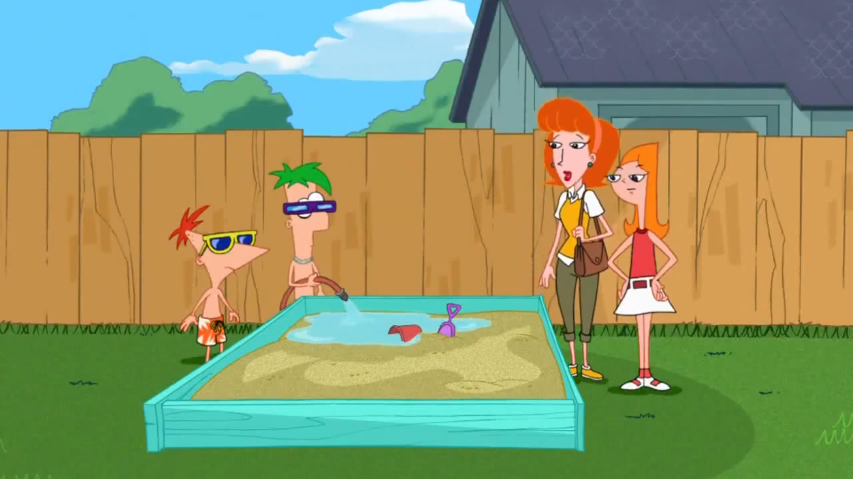 beach party of terror phineas and ferb wiki your guide to phineas