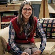 Amy smiles