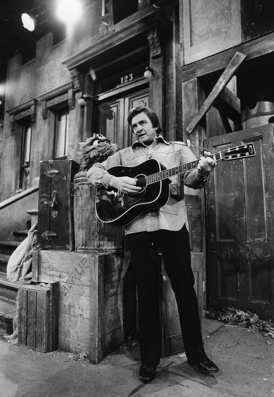 Johnny Cash - Muppet Wiki
