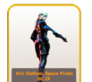 Galactic Chronicles IX: Eric Olafson, Space Pirate