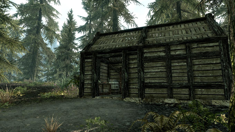Meeko 39 s shack the elder scrolls wiki for Shack homes