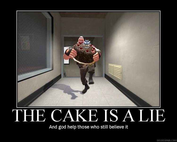 Image - The Cake is a Lie by IIX4II.jpg - Halo Nation — The Halo encyclopedia - Halo 1, Halo 2 ...