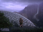 Regen auf Risa