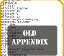 Old Appendix