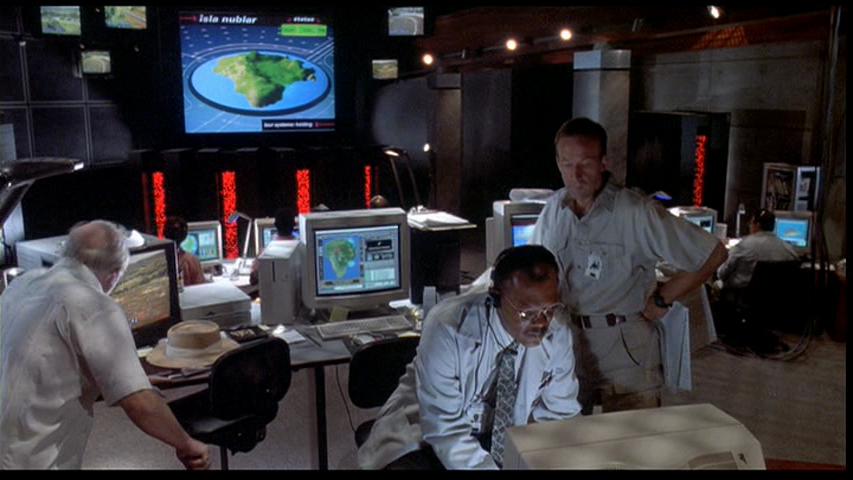 Control Room Park Pedia Jurassic Park Dinosaurs