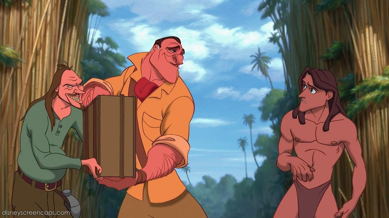 Tarzan and jane at cartoon sex scene 3