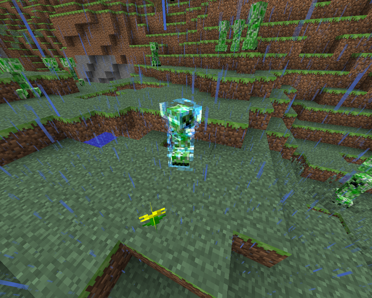 Image Charged Creeper Png Minecraft Wiki