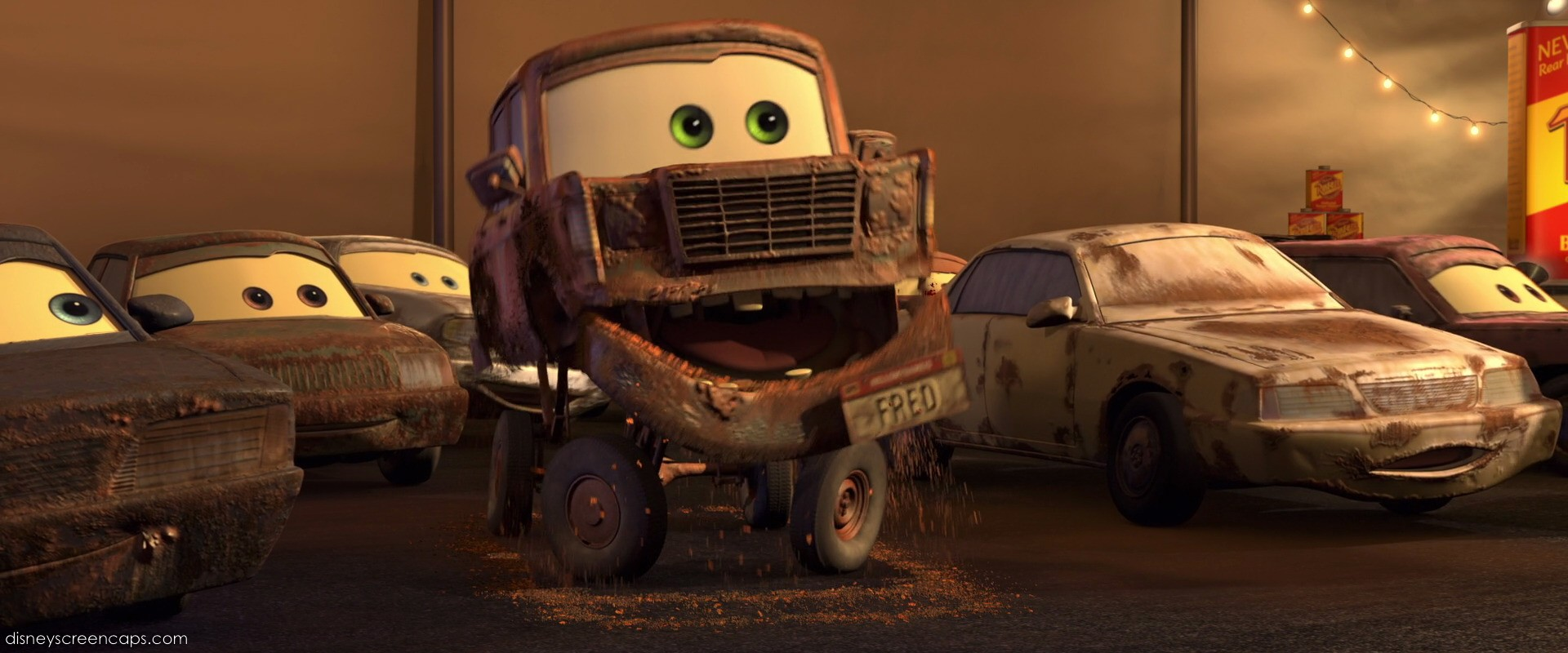 Fred from Disney's Cars