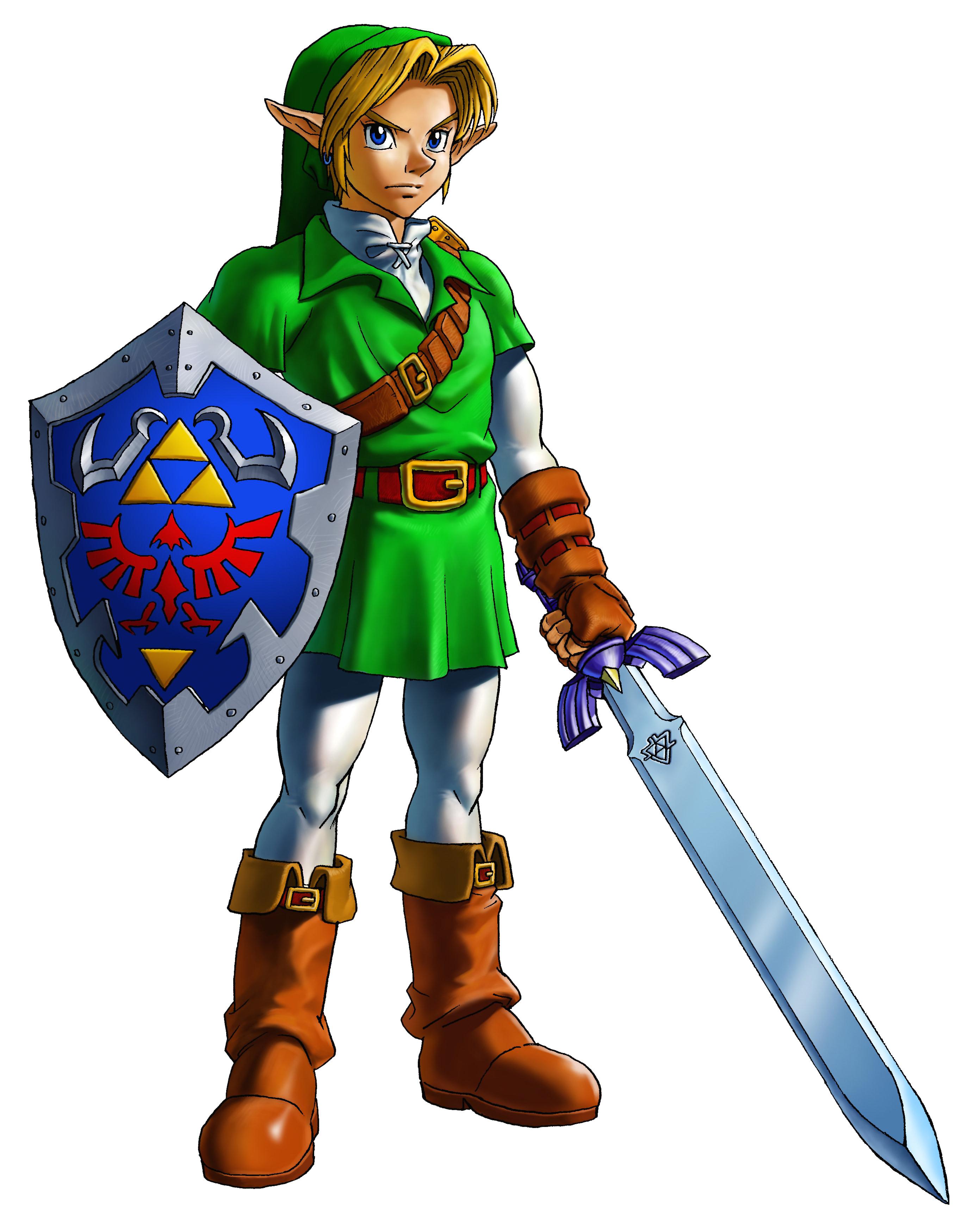 Saga Super Smash Bros. - Página 4 Link_Artwork_1_%28Ocarina_of_Time%29
