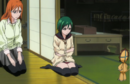 Kon reassures Nozomi that Ichigo will be alright.png