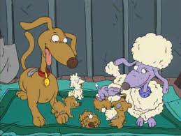 Image - Fifi and spike.jpg - Tommy and the Rugrats Wiki ...