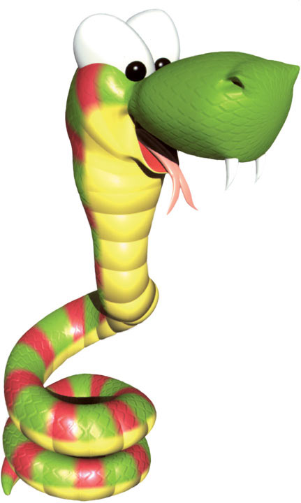 Rattly The Rattlesnake Donkey Kong Wiki The Encyclopedia About Donkey Kong And Diddy Kong Racing