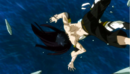 Gray and Ultear falling off a cliff.png