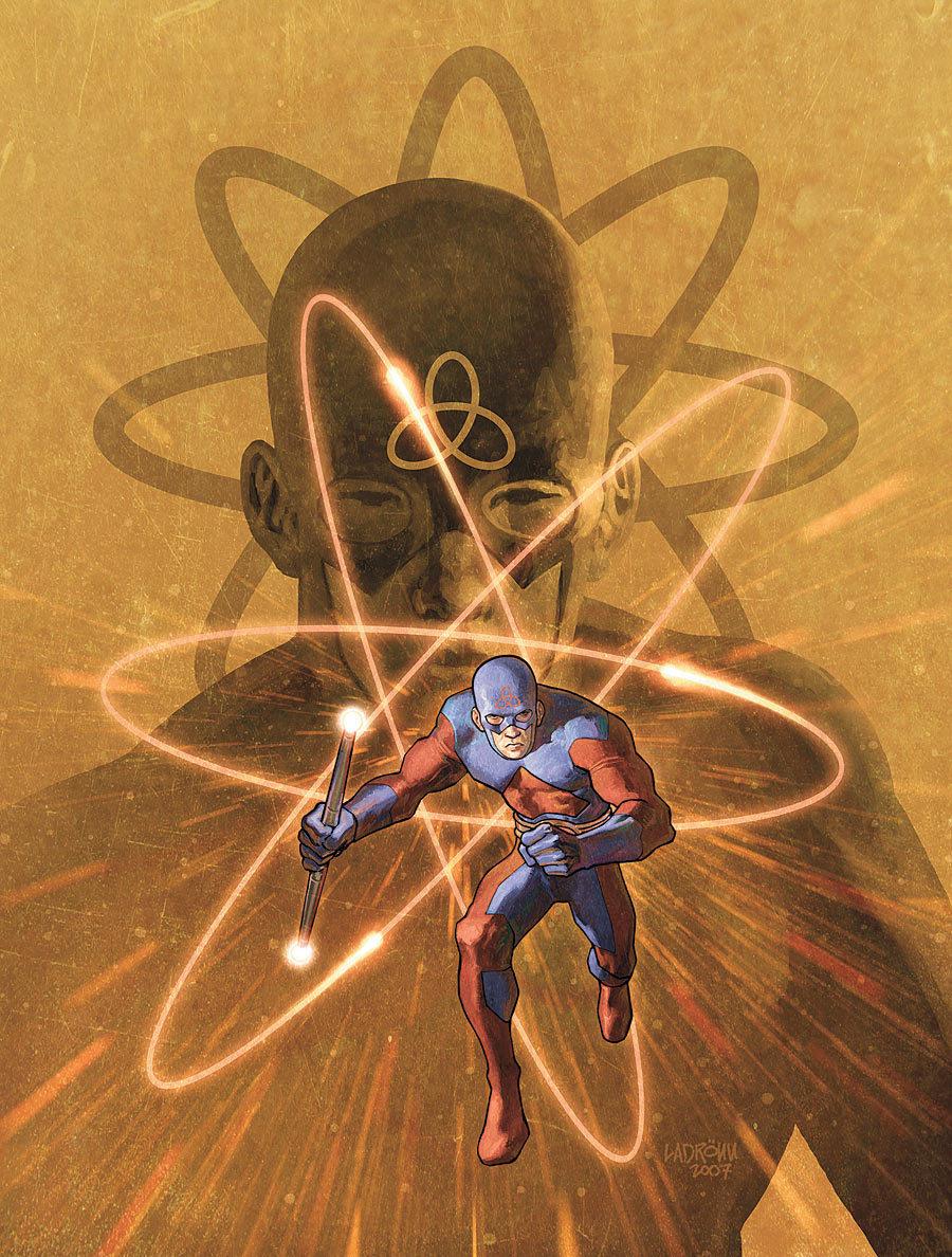 Ryan Choi  New Earth New 52 Atom Smasher