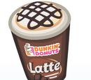 Dunkin' Mocha Latte