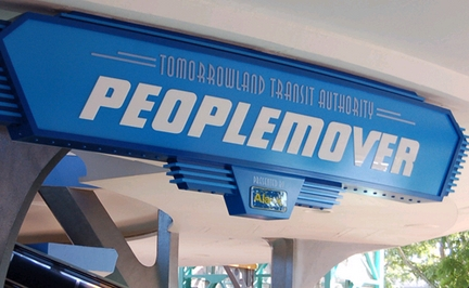 Tomorrowland Transit Authority Peoplemover Disney Wiki