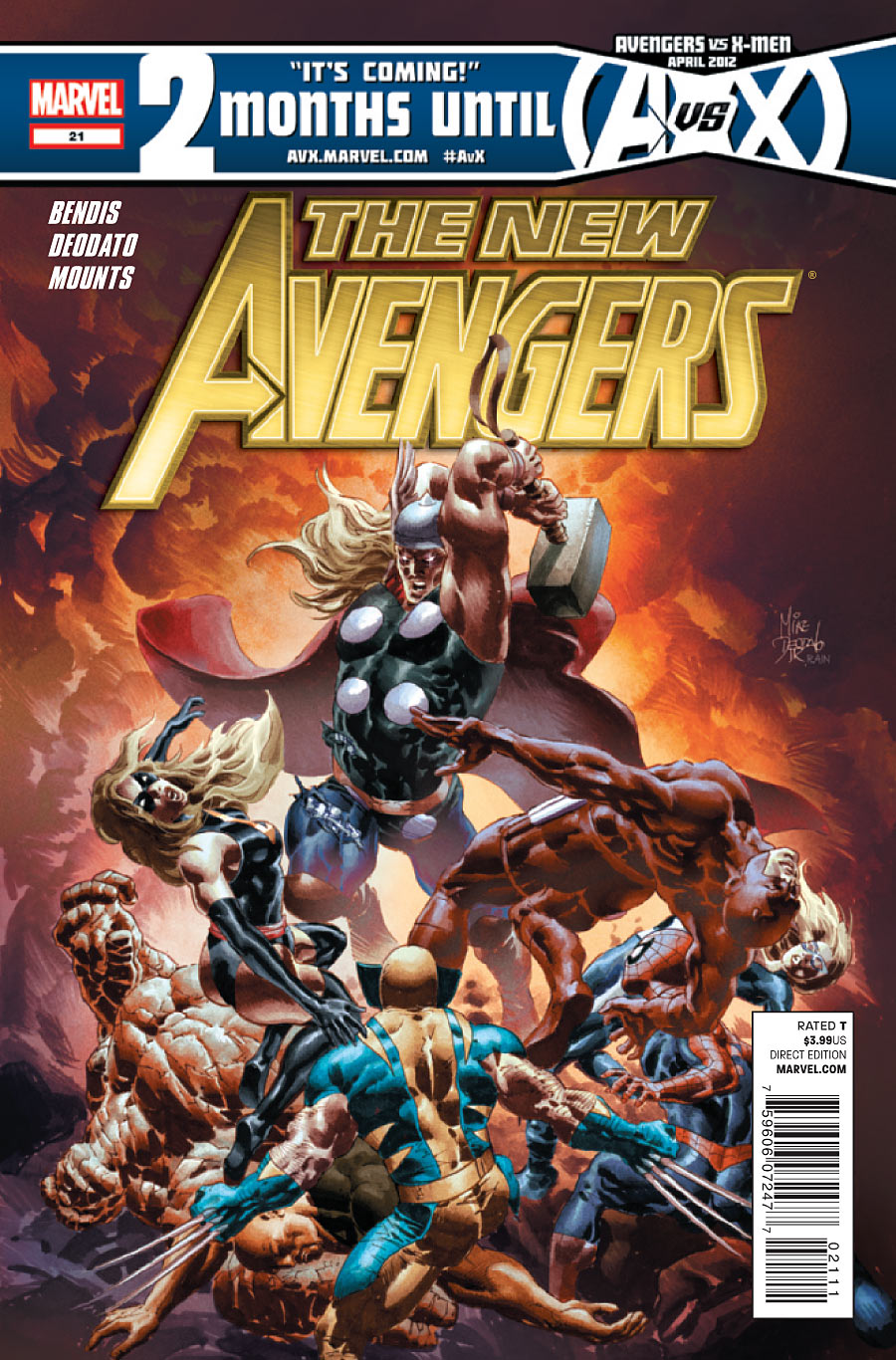 new avengers vol 2 21 marvel comics database. Black Bedroom Furniture Sets. Home Design Ideas