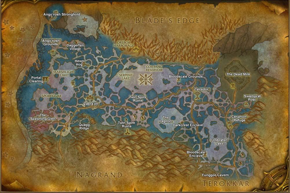 Паровое Подземелье Карта