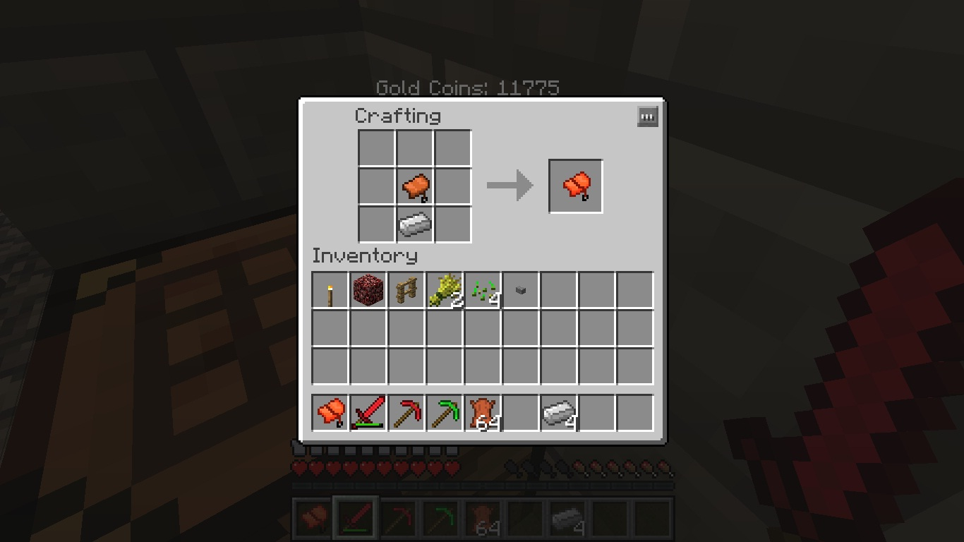Crafting A Saddle In Minecraft Pc