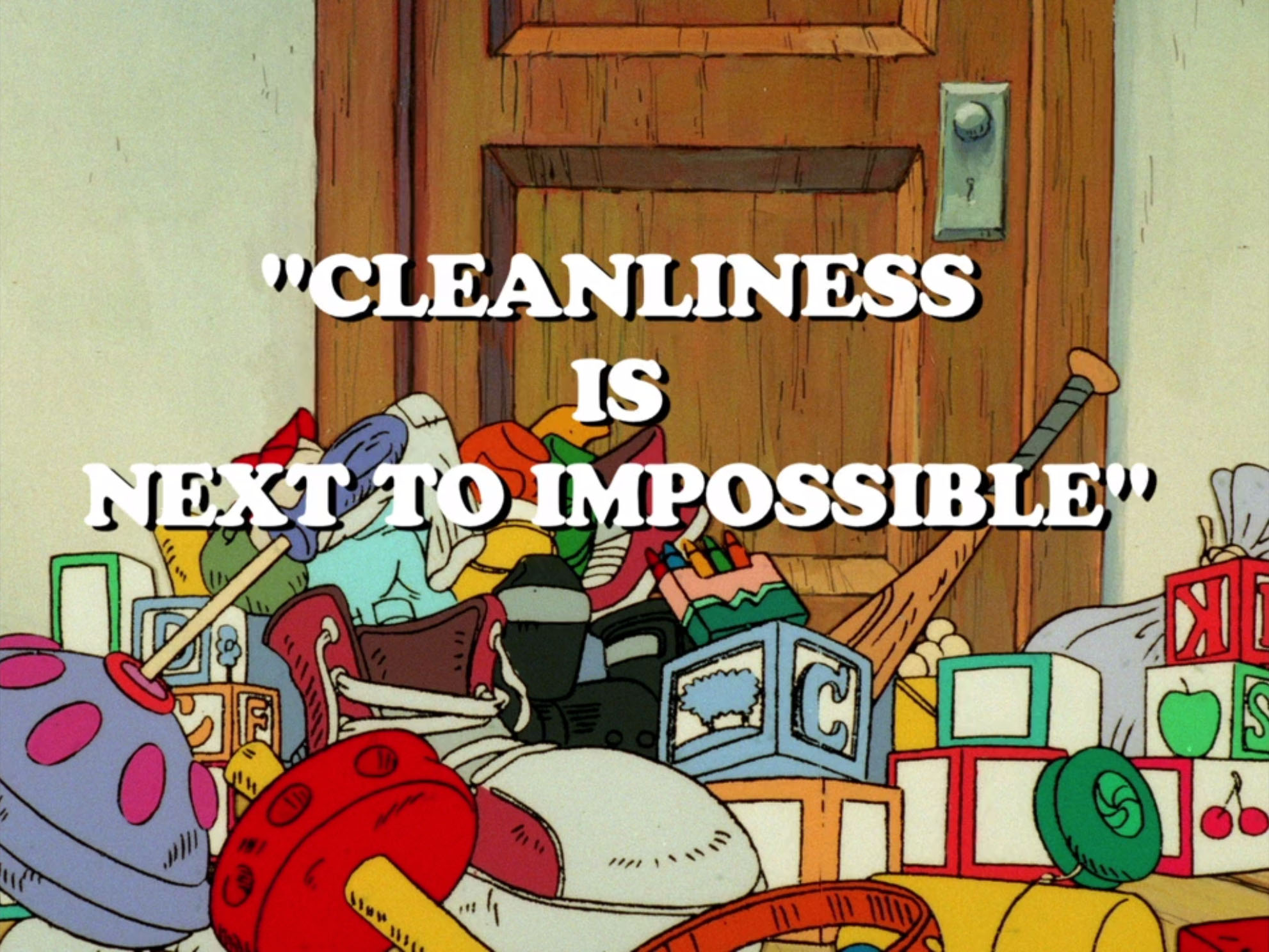 Cleanliness is next to goldenness