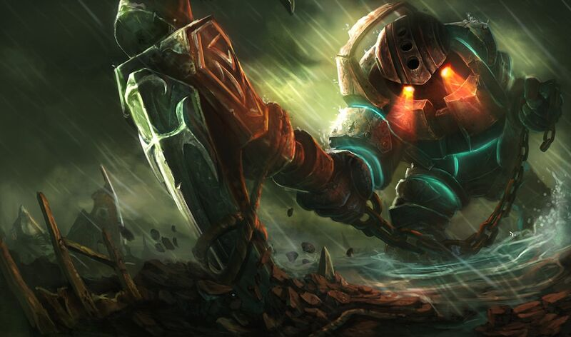 THE BOTTOM LANE'S THIRD CHAMPION PICK OF THE WEEK -   NAUTILUS