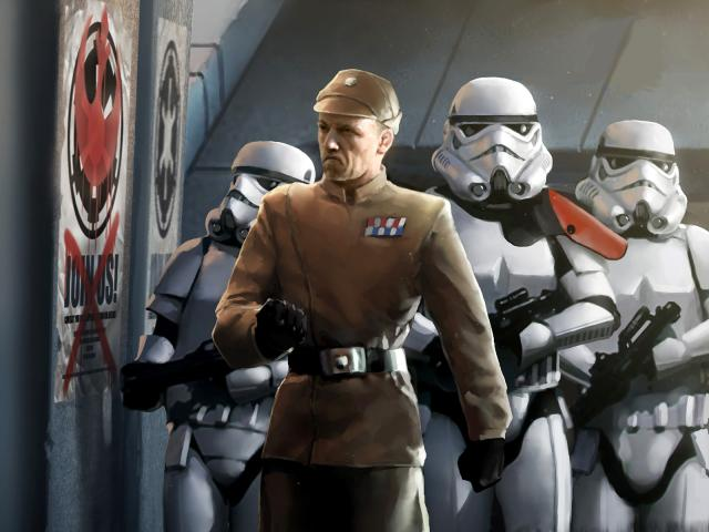 Imperial Security Bureau The Star Wars Exodus Visual
