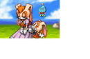 Sonic advance 2 ending artwork Cream and a relieved Vanilla.png