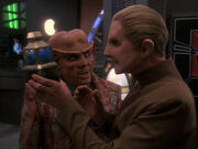 Quark verkauft Odo einen Wechselbalg