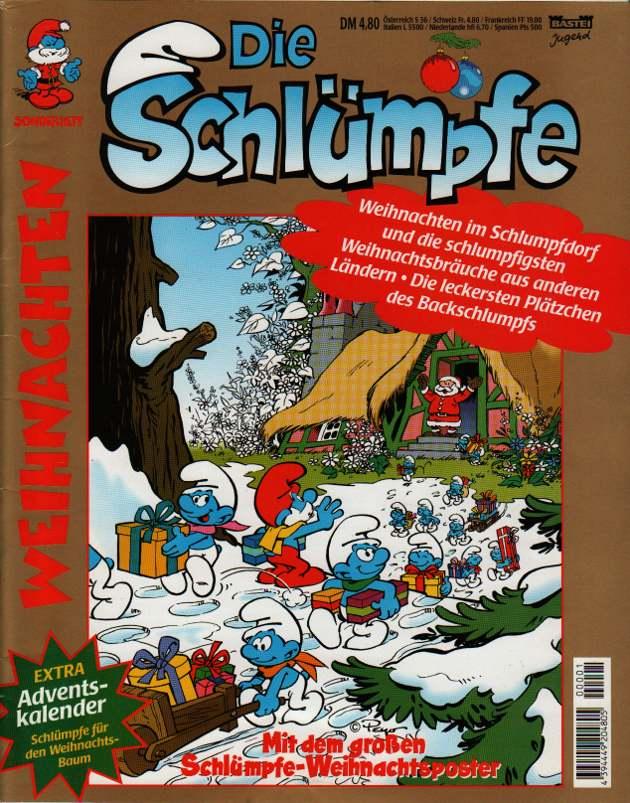 Bild die schl mpfe basteicomic weihnachten schlumpf wiki - Schlumpf weihnachten ...