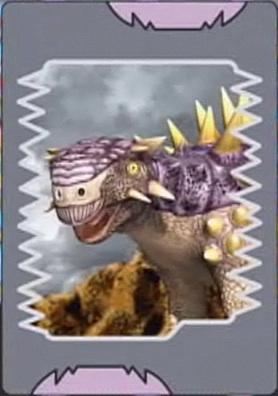 Saichania card 1 jpgDinosaur King Megalosaurus Card