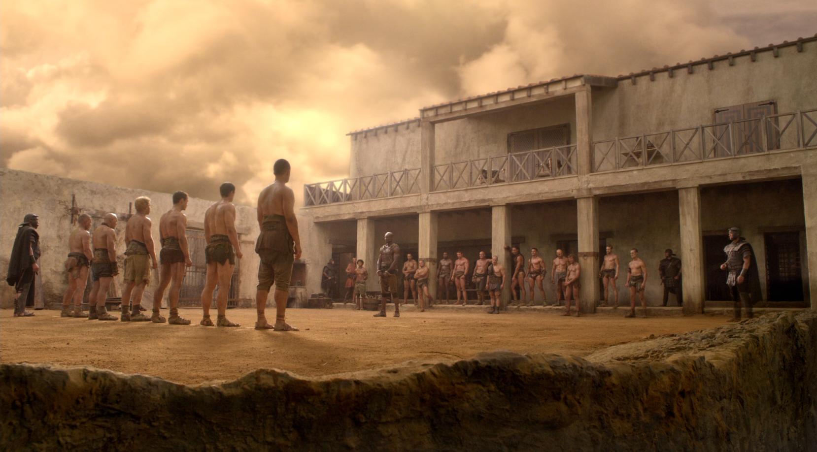 spartacus serie reihenfolge