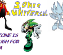 Sonic Universal: No-Zone is Enough For Them