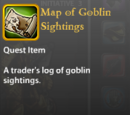 Map of Goblin Sightings