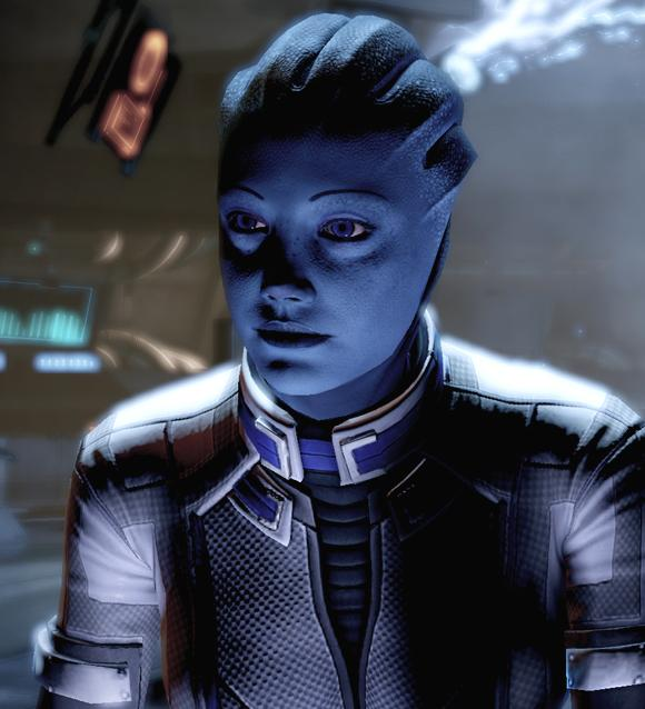 Mass effect 1 -2 -3  Liara25