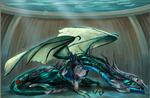 Dragons Of Atlantis Fire Dragon