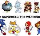 Sonic Universal: The War BEGINS!