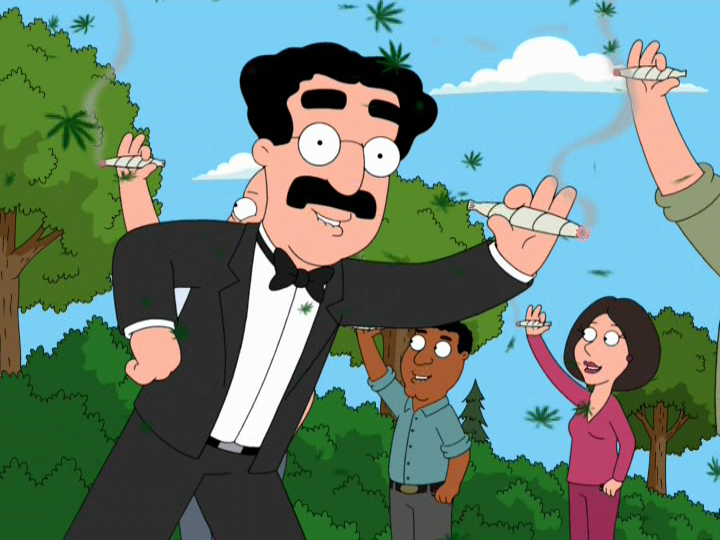 Bag of Weed  Family Guy  Adult Swim