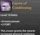 Crown of Conditioning