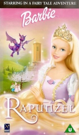 Image - Barbie as rapunzel vhs cover.jpg - Barbie Movies Wiki - ''The Wiki Dedicated To Barbie ...