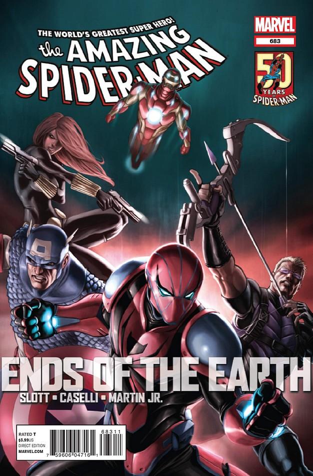 Amazing Spider Man Vol 1 683 Marvel Comics Database