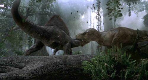 500px-Rexvsspino03 jpgJurassic Park Toys Spinosaurus Vs Trex