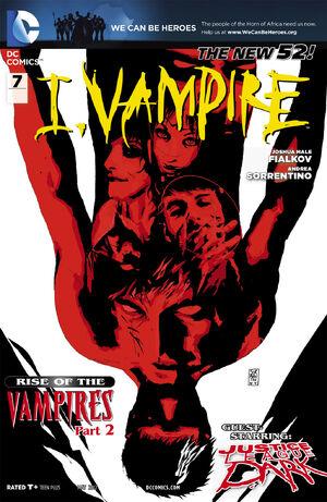 Cover for I, Vampire #7 (2012)
